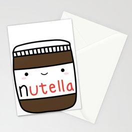 Nutella kawaii. Stationery Cards
