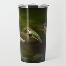 Humming Bird in Flight Travel Mug