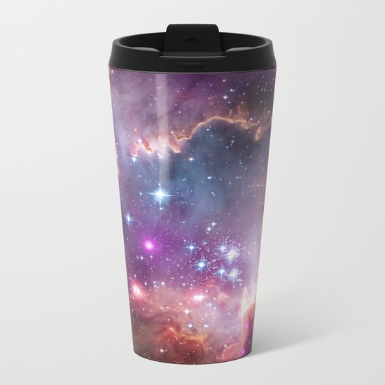Under the Wing of the Small Magellanic Cloud Metal Travel Mug