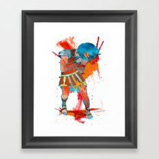 No Gladius Framed Art Print