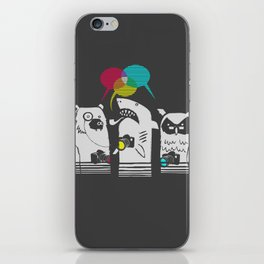 Color Theorists iPhone Skin