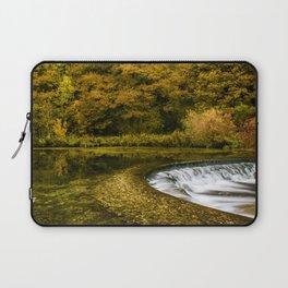Autumn on the River Lathkill Laptop Sleeve