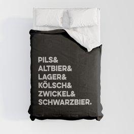 German types of beer / Deutsche Biersorten Comforters