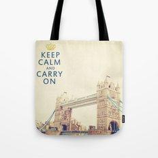 Keep Calm London Tote Bag