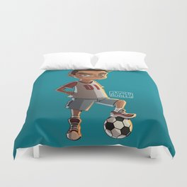 Soccer Kid Duvet Cover