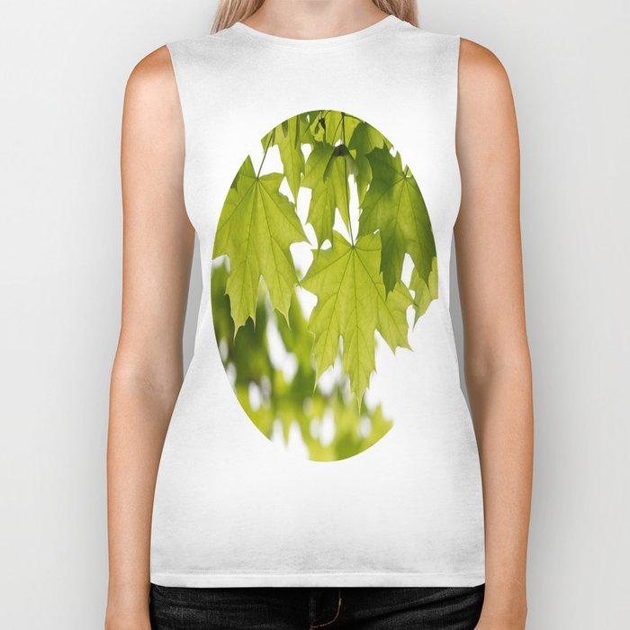The Green Leaves of Summer Biker Tank