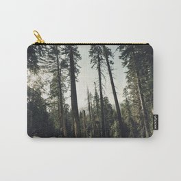 Winter Sequoia Forest Carry-All Pouch
