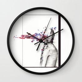 Eating Hooks Wall Clock
