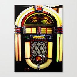 Wurlitzer Jukebox  Canvas Print