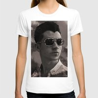 alex turner T-shirts featuring Alex Turner by Tune In Apparel
