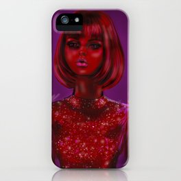 Glamour Girl iPhone Case