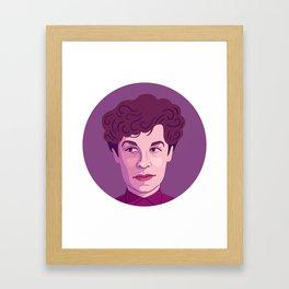 Queer Portrait - Jane Bowles Framed Art Print