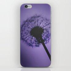 DANDELION PURPLE iPhone & iPod Skin
