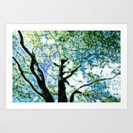 Sparkle Tree Art Print