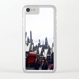 Entering Hogsmead Clear iPhone Case