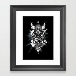 Orchids & Diamonds Framed Art Print