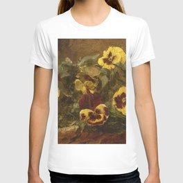 Henri Fantin-Latour - Pansies T-shirt