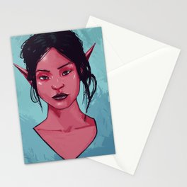 Red Elf Stationery Cards