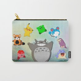 Video game Anime Character Rainbow Carry-All Pouch