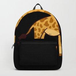 Giraffe Gift Cute Baby Backpack