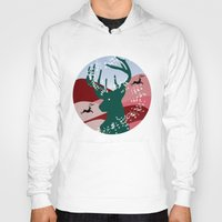 merry christmas Hoodies featuring merry christmas by mark ashkenazi