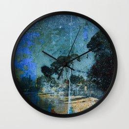 Cap d'Antibes Vintage Wall Clock