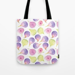 Watercolor Figs Tote Bag