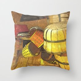 A Tisket A Tasket DPPA151019a Throw Pillow