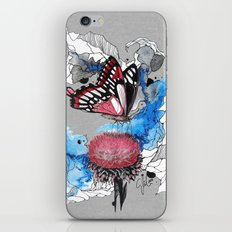 Butterfly I by carographic, Carolyn Mielke iPhone & iPod Skin