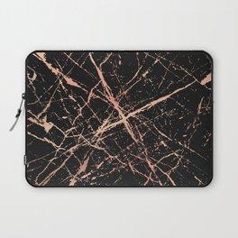 Copper Splatter 091 Laptop Sleeve