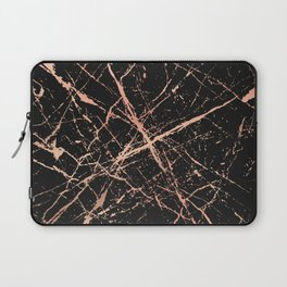 Copper Splatter 091 Laptop Sleeve