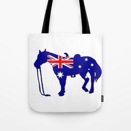 Australian Flag - Horse Tote Bag