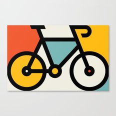 Color Bike 1 Canvas Print