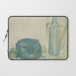 Transparencies in Blue Green Laptop Sleeve