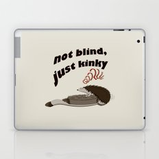 Not blind, just kinky! Laptop & iPad Skin