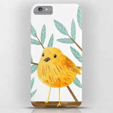 Yellow Warbler iPhone 6 Plus Slim Case