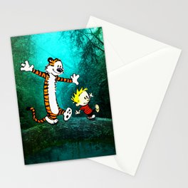 Calvin and hobbes Stationery Cards