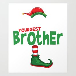 elf youngestbro Art Print
