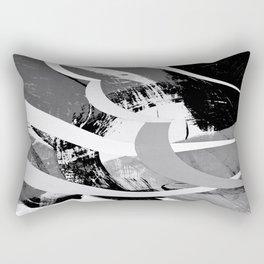 Moonlit Race Rectangular Pillow