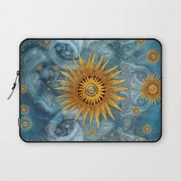 """""""Saturn mandala celestial vault"""" Laptop Sleeve"""
