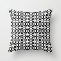 indie Throw Pillows featuring Indie by Priscila Peress