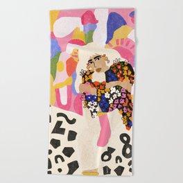 World Full Of Colors Beach Towel