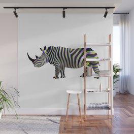 rhino Wall Mural