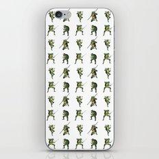 Ninja Turtle Pattern iPhone & iPod Skin