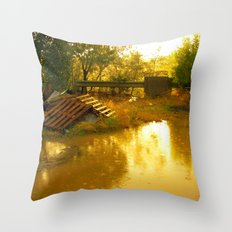 Let it rain... Throw Pillow