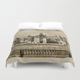 Biltmore Mansion Estate Duvet Cover