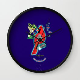 """In The Words Of One Great Rapper """"Put Some Respek On My Name"""" Wall Clock"""