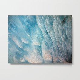 Mysteries of Ice (Knik Glacier, Alaska) Metal Print