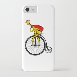 Giraffe Santa Chritmas iPhone Case