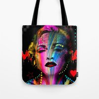 body Tote Bags featuring Body by Michaëlis Moshe
